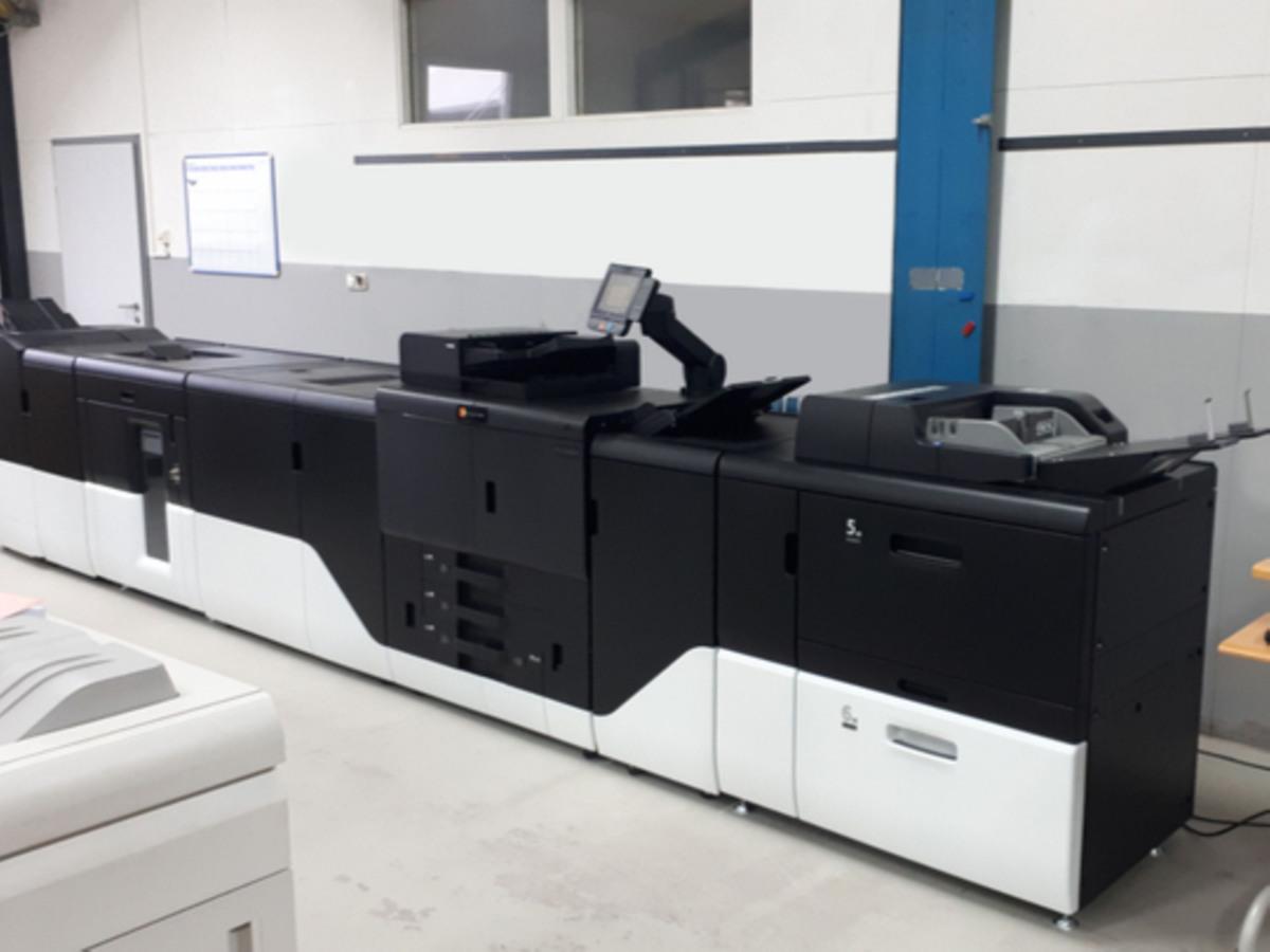 Unsere Production Printing Maschine bei Druckerei Reichert