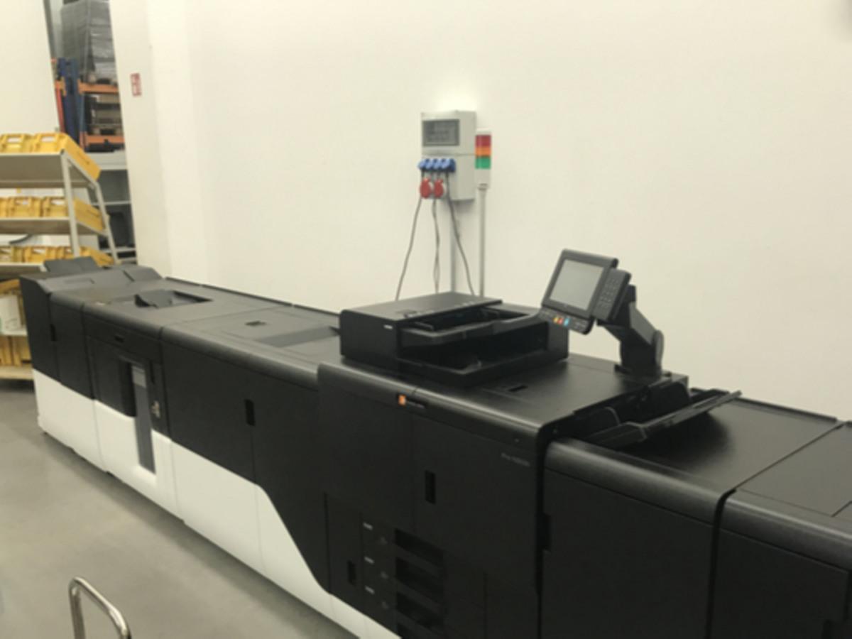 Referenz: Unsere Production Printing Maschine bei Postdienst.de