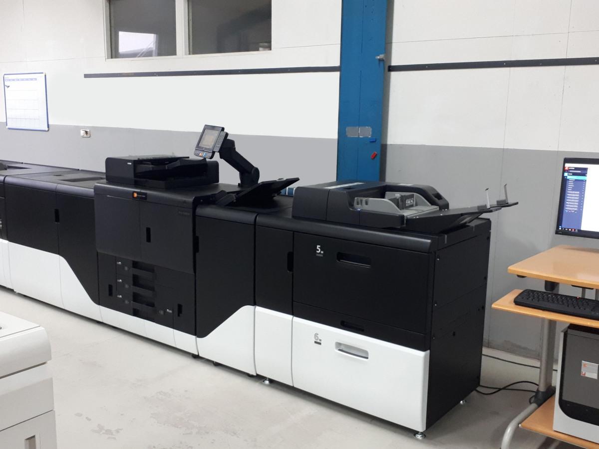 Unser Production Printing System bei Druckerei Reichert